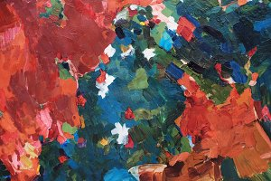 oil painting background abstract