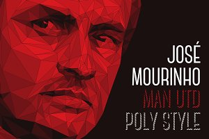 Jose Mourinho, Manchester Utd - Poly