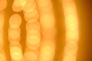 blurred gold glittering light