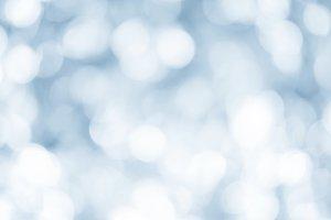 christmas blurred lights