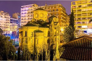 Church of Panagia Chalkeon in Thessaloniki - Greece