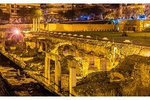 Roman Forum, Ancient Greek Agora in Thessaloniki, Greece