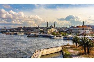 Ferries in Istanbul - Turkey
