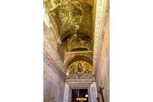 Interior of Hagia Sophia - Istanbul, Turkey