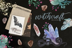 Watercolor Set | WITCHCRAFT