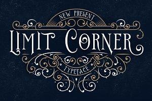 Limit Corner Typeface + Extras