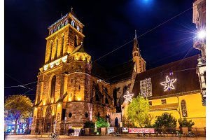 The Church of Old Saint Peter in Strasbourg - France