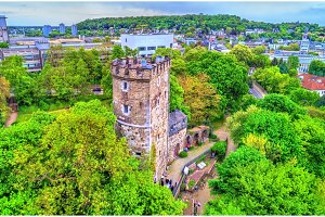 Langer Turm, a medieval tower in Aachen, Germany