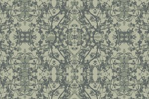 Modern Noveau Floral Pattern