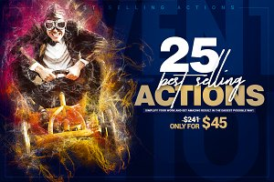 25 Best Selling Actions