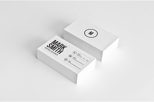 Simple Minimal Business Card 48