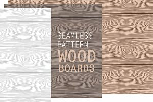 Pattern of Wooden boards