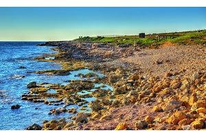 Seashore in Paphos - Cyprus