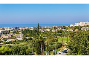 Autumn panorama of Paphos - Cyprus