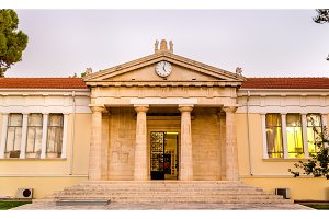 View of the Town Hall of Paphos - Cyprus