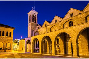 Saint Theodoros Cathedral in Paphos - Cyprus