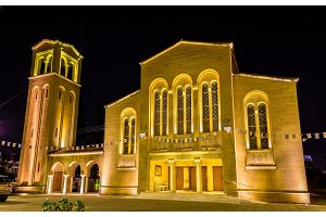 Ayioi Omoloyites church in Nicosia - Cyprus