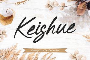 Keishue Script Font