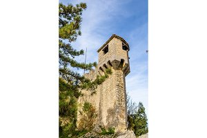 De La Fratta or Cesta Tower in San Marino