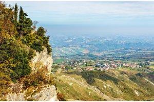 Monte Titano, a mountain in San Marino