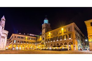 The Communal Palace, the town hall of Modena - Italy