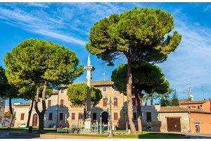 Piazza Duomo in Ravenna - Italy, Emilia-Romagna