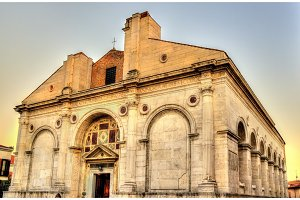 Tempio Malatestiano, the cathedral church of Rimini