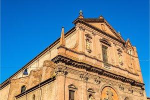 San Domenico church in Ferrara - Italy