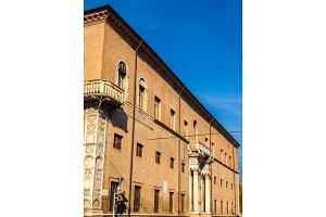 The Palazzo Prosperi-Sacrati in Ferrara - Italy