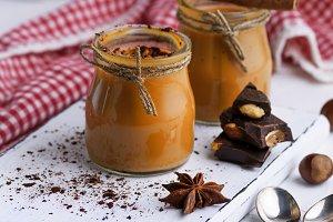 Caramel dessert Toffee