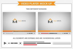 Video Player  Mockup