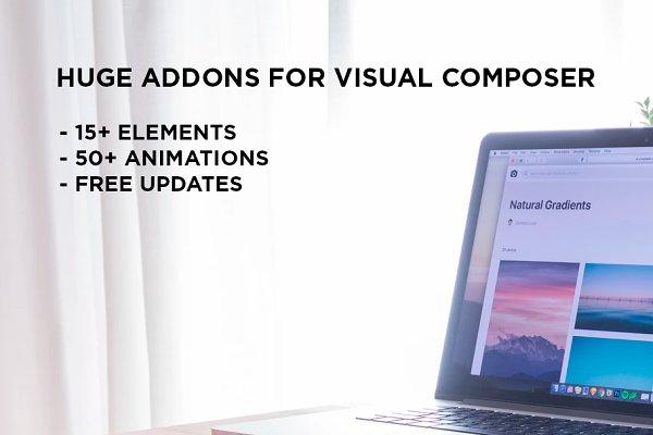WordPress Plugins: ncreative - Huge Addons for Visual Composer