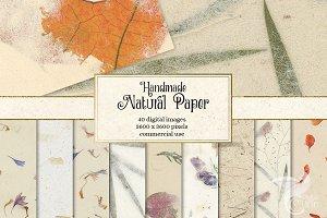Handmade Natural Paper Textures