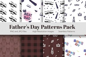Seamless Pattern Father's Day Pack