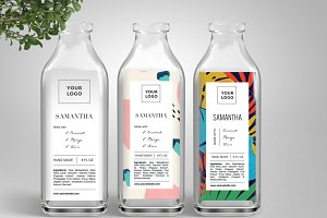packaging and label template-id54