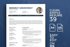 Resume Template 39