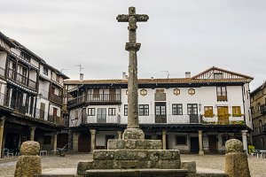 La Alberca main square