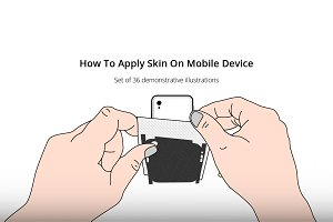 How to Apply Skin on Mobile Phone