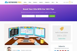 Keyword Pro - Blog WordPress Theme
