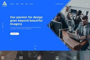 Harizma-Creative Agency PSD