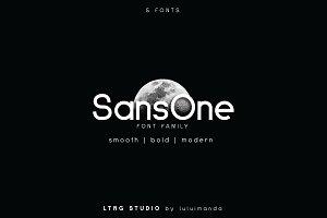 SansOne Font Family