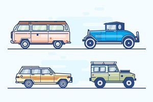 Car vector collection / logo / illus