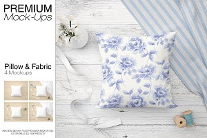 Pillow & Fabric Set
