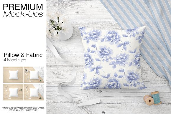 Free Pillow & Fabric Set