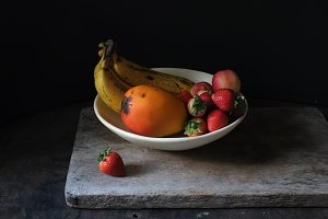 Fruit Bowl Dark and Moody