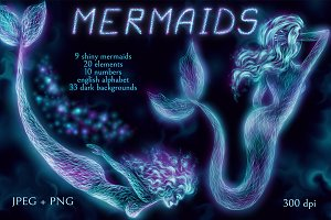 Shiny Mermaids