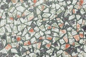 background of broken mosaic