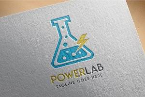 Power Loaboratory - Logo
