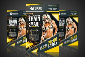 Fitness - Flyer/Poster