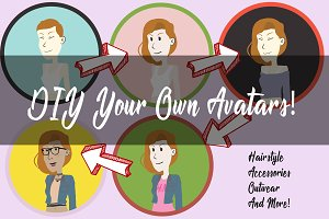 DIY Female Avatars #Streetwear